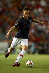 September 11, 2018 - Elche, Spain - Ivan Rakitic of Croatia during the UEFA Nations League football match between Spain and Croatia at Martinez Valero Stadium in Elche, Spain on September 8, 2018. (Credit Image: © Jose Breton/NurPhoto/ZUMA Press)