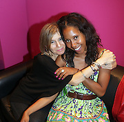 l to r: Jill Newman and Sade Lythcott at The Black Star Concert presented by BlackSmith and Live N Direct held at The Nokia Theater in New York City on May 30, 2009
