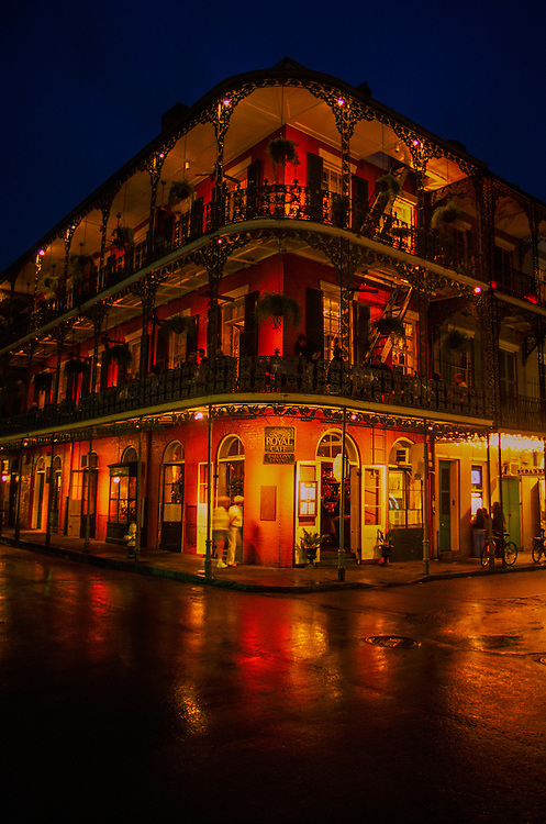 Royal Cafe, French Quarter, New Orleans, Louisiana