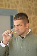 Jean-Philippe Fourney, Maitre de Chai, winemaker Chateau Vannieres (Vannières) La Cadiere (Cadière) d'Azur Bandol Var Cote d'Azur France
