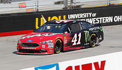 April 13, 2018 - Bristol, TN, U.S. - BRISTOL, TN - APRIL 13:  #41: Kurt Busch, Stewart-Haas Racing, Ford Fusion Haas Automation/Monster Energy during practice for the 58th annual Food City 500 on April 13, 2018 at Bristol Motor Speedway in Bristol, Tennessee (Photo by Jeff Robinson/Icon Sportswire) (Credit Image: © Jeff Robinson/Icon SMI via ZUMA Press)