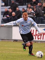 FODBOLD: Ronni Andersen (Helsingør) under kampen i Danmarksserien, pulje 1, mellem Elite 3000 Helsingør - Døllefjelde-Musse IF den 5. april 2010 på Helsingør Stadion. Foto: Claus Birch