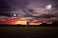 Sunset at the US Soccer Development Academy in Phoenix, AZ.