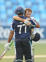 ICC World Twenty20 Qualifier UAE 2012.Scotland take on Canada in the 5th place play off at the Dubai International Cricket Stadium, Dubai,.Pic shows.