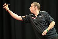 Kirk Shepherd during the Ladbrokes UK Open at Stadium:MK, Milton Keynes, England. UK on 5 March 2021.