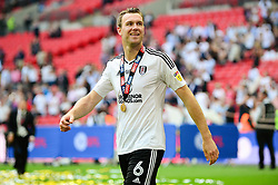 Kevin McDonald of Fulham - Mandatory by-line: Dougie Allward/JMP - 26/05/2018 - FOOTBALL - Wembley Stadium - London, England - Aston Villa v Fulham - Sky Bet Championship Play-off Final