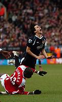 Photo: Tony Oudot.<br />Charlton Athletic v West Ham United. The Barclays Premiership. 24/02/2007.<br />Yossi Benayoun of West Ham is fouled by Souleymane Diawara of Charlton