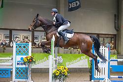 Van Waes Maarten, BEL, Ortega van de Moervaarthoeve<br /> Nationaal Indoorkampioenschap  <br /> Oud-Heverlee 2020<br /> © Hippo Foto - Dirk Caremans