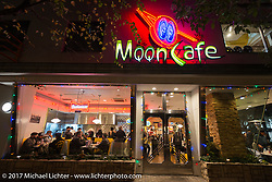 The Moon Cafe during the Mooneyes Area-1 BBQ party. Yokohama, Japan. Monday December 4, 2017. Photography ©2017 Michael Lichter.