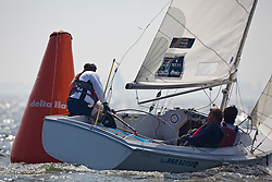 Medemblik - the Netherlands, July 9th 2010. Delta Lloyd IFDS Worlds 2010 (9/14 July 2010). Day one.