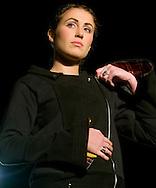 Omaha, NEB 9/19/09.A model shows off an Alexia Thiele piece for her line Autopilot Art...Chris Machian/The World-Herald