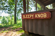 Sleepy Knob cabin built in 1921 on Home Lake at Dairymen's Country Club in the Northwoods village of Boulder Junction, Wisconsin.