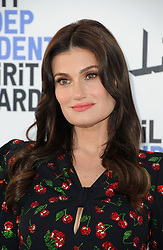 Idina Menzel at the 35th Annual Film Independent Spirit Awards held at the Santa Monica Beach in Santa Monica, USA on February 8, 2020.