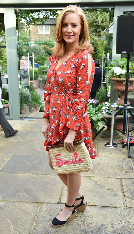 Sarah Jane Mee at The Ivy Chelsea Garden's Annual Summer Garden Party, The Ivy Chelsea Garden, 197 King's Road, London England. 9 May 2017.<br /> Photo by Dominic O'Neill/SilverHub 0203 174 1069 sales@silverhubmedia.com