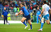 Yoann HUGET - 15.03.2015 - Rugby - Italie / France - Tournoi des VI Nations -Rome<br /> Photo : David Winter / Icon Sport