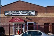 Eglise Baptiste du Redempteur d'Expression Francais, 532-534  E. 26th St, on the corner of Flatbush Avenue, Brooklyn.