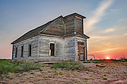 Presbyterian church ruins, Taiban, New Mexico
