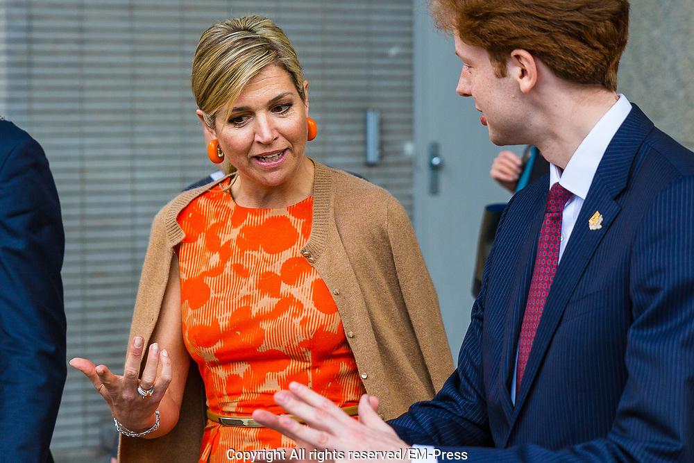 Aankomst van Koningin Maxima bij de klimaatconferentie Adaption Futures in Rotterdam <br /> Arrival of Queen Maxima at the Climate Adaptation Futures in Rotterdam