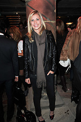 HOLLY BRANSON at the launch party for the new nightclub Public at 533 Kings Road, London on 2nd December 2010.