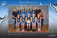 Tranby Netball Club Team Photos 2018