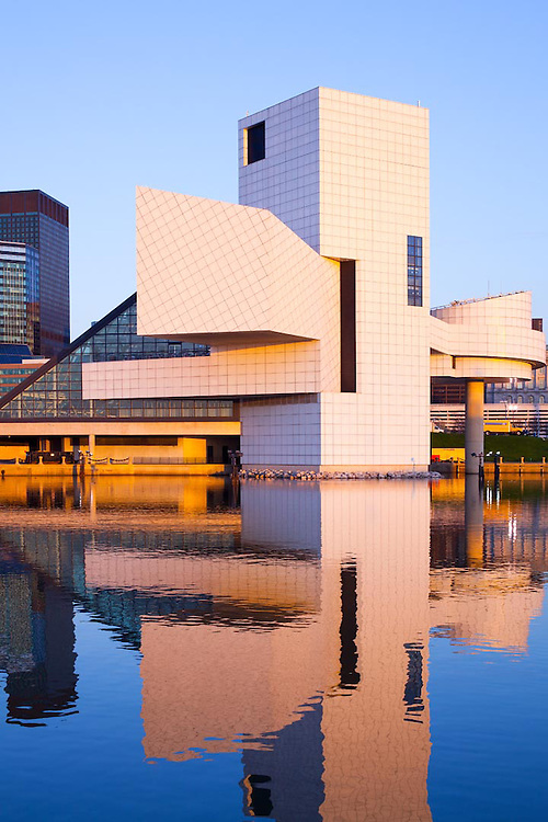 Rock and Roll Hall of Fame Museum, Cleveland, Ohio, USA