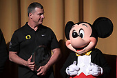 NCAA Football-Rose Bowl-Disneyland Team Visit-Dec. 26, 2019