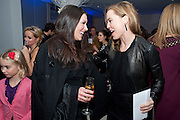 KATE MAGOWAN; MELISSA GEORGE,  English National Ballet's party before performance of the ' The Nutcracker. St. Martin's Lane Hotel. London 14 December 2011.