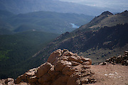 June 26-30 - Pikes Peak Colorado. Marmot at Bottomless Pit