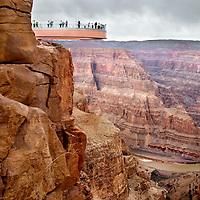 Grand Canyon Skywalk by Chris Maluszynski