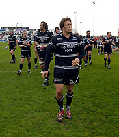 Photo: Jed Wee.<br />Newcastle Falcons v Leeds Tykes. Guinness Premiership. 06/05/2006.<br /><br />Newcastle's Jonny Wilkinson leads the lap of honour at the end of the game.