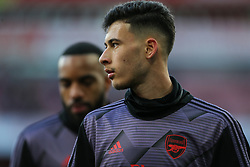 Gabriel Martinelli of Arsenal during the warm up - Mandatory by-line: Arron Gent/JMP - 18/01/2020 - FOOTBALL - Emirates Stadium - London, England - Arsenal v Sheffield United - Premier League