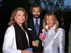 Left to right, PRINCESS IRA VON FURSTENBERG, MR CESARE CANAVESIO <br /> and PRINCESS CHANTAL OF HANOVER, at a dinner in London on 22nd May 2000.OEK 13