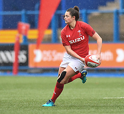 Wales Robyn Wilkins<br /> Wales Women v South Africa Women<br /> Autumn International<br /> <br /> Photographer Mike Jones / Replay Images<br /> Cardiff Arms Park<br /> 10th November 2018<br /> <br /> World Copyright © 2018 Replay Images. All rights reserved. info@replayimages.co.uk - http://replayimages.co.uk