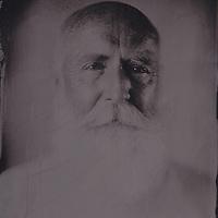 Tintype wetplate collodion plate made at Vine Street, Brighton. Paul Allen, artist.