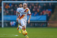 Bradford City midfielder Nicky Law (4)  during the EFL Sky Bet League 1 match between Walsall and Bradford City at the Banks's Stadium, Walsall, England on 17 December 2016. Photo by Simon Davies.