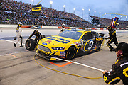May 10, 2013: NASCAR Southern 500. Marcos Ambrose, Ford , pitstop , Jamey Price / Getty Images 2013 (NOT AVAILABLE FOR EDITORIAL OR COMMERCIAL USE