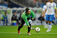 FOOTBALL - UEFA EURO 2012 - QUALIFYING - GROUP D - FRANCE v BOSNIA - 11/10/2011 - PHOTO GUY JEFFROY / DPPI - KENAN HASAGIC (BOS)