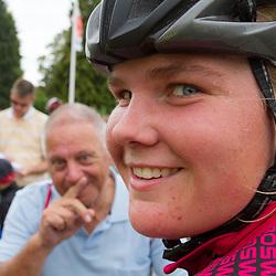 WIELRENNEN, Ladiestour, Tiel: Ashlynn van Baarle na de wedstrijd