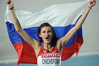 ATHLETICS - IAAF WORLD CHAMPIONSHIPS 2011 - DAEGU (KOR) - DAY 8 - 03/09/2011 - PHOTO : STEPHANE KEMPINAIRE / KMSP / DPPI - <br /> HIGH JUMP - WOMEN - FINAL - WINNER - GOLD MEDAL  - ANNA CHICHEROVA (RUS)