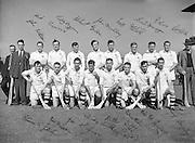 All-Ireland Senior Hurling Final, Cork v Galway, at Croke Park..Cork 3-3   Galway 0-8.Galway Team.06.09.1953
