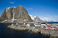 Hamnøy and Kjerkefjord, Lofoten islands, Norway