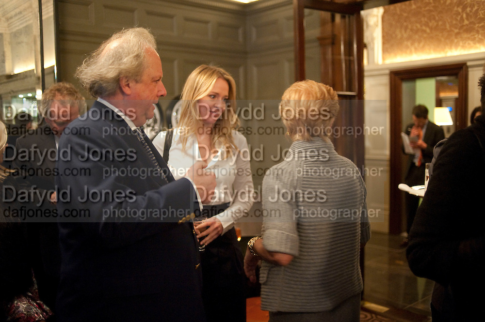 GRAYDON CARTER, KATE REARDON, Graydon and Anna Carter host a lunch for Carolina Herrera to celebrate the ipening of her new shop on Mount St. .The Connaught. London. 20 January 2010