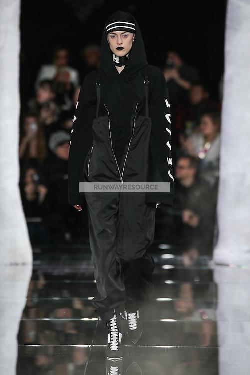 Sarah Brannon walks the runway wearing PUMA x FENTY by Rihanna Fall 2016 during New York Fashion Week on February 12, 2016