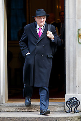 © Licensed to London News Pictures. 24/02/2015. LONDON, UK. Business Secretary Vince Cable attending to a cabinet meeting in Downing Street on Tuesday, 24 February 2015. Photo credit: Tolga Akmen/LNP