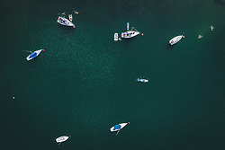 THEMENBILD - Boote am Zeller See, aufgenommen am 28. Juli 2020 in Zell am See, Österreich // Boats at the Zeller See, Zell am See, Austria on 2020/07/28. EXPA Pictures © 2020, PhotoCredit: EXPA/ JFK