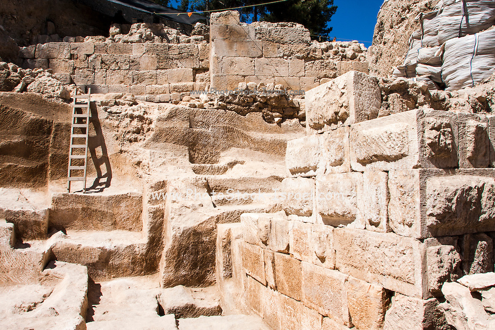 Israel, Jerusalem, The City of David (Ir David) is claimed to be the oldest settled neighborhood of Jerusalem and a major archaeological site due to recognition as biblical Jerusalem