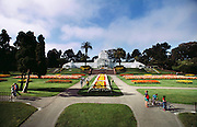 Conservatory in Golden Gate Park, San Francisco, California, USA.