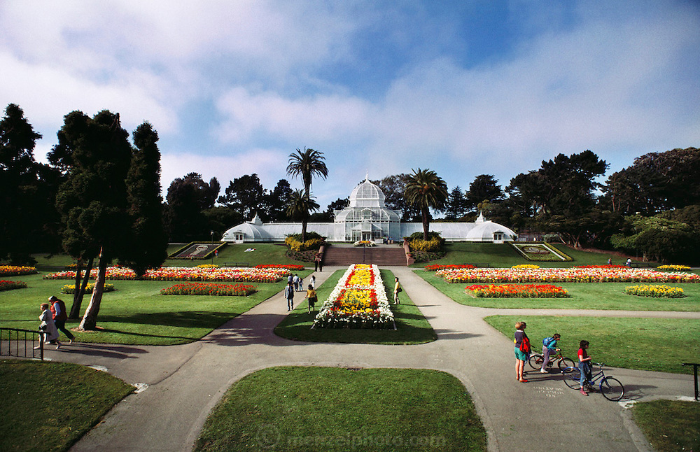 Conservatory in Golden Gate Park, San Francisco, California, USA.