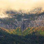 Bird Woman Falls, Glacier National Park.