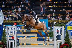 Goldstein Danielle, ISR, Corneel<br /> Vlaanderens Kerstjumping<br /> Memorial Eric Wauters<br /> Jumping Mechelen 2017<br /> © Hippo Foto - Dirk Caremans<br /> 29/12/2017